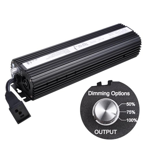 1000w Digital Electronic Dimmable Ballast for MH HPS Grow Light System by Generic