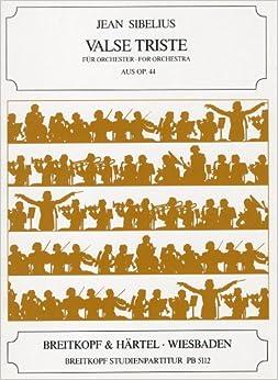 シベリウス: 悲しきワルツ Op.44/1/ブライトコップ & ヘルテル社/小型スコア