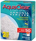 Aquaclear 50-Gallon Ammonia Remover, 3-Pack