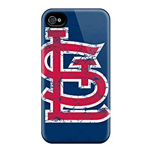 Bumper Hard Cell-phone Case For Iphone 4/4s (SCi39UgbL) Unique Design High Resolution St. Louis Cardinals Pictures