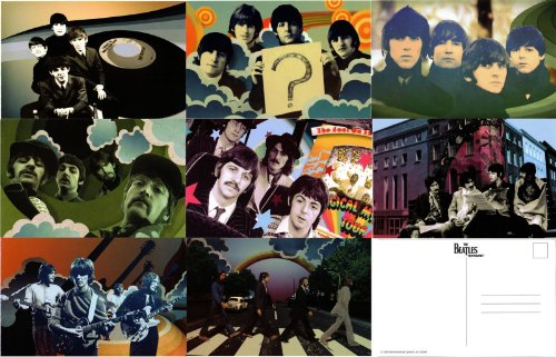 The Beatles Rock Band Limited Edition Set of 8 Postcards 4