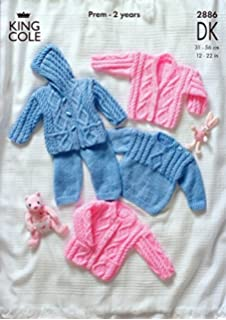 5f6e5edeb Baby Double Knitting and 4 Ply Pattern - PG 7095 Matinee Jackets ...