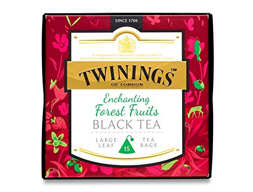 Twinings Tea Gift Box Collection 37.5g - Enchanting - Forest Fruits Black Tea