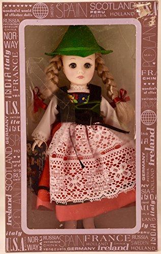 Corp - Item #1112 - International Series - Switzerland 11 inch Vinyl Doll - Traditional Dress - OOP - New - Rare - Collectible (Effanbee Vinyl Doll)