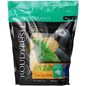 Amazon com : RoudyBush Daily Maintenance Bird Food, Mini, 44-Ounce