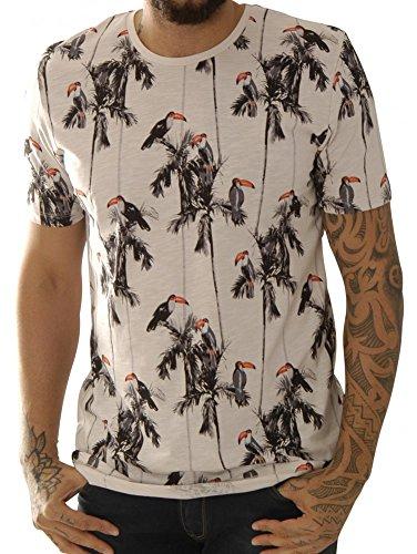 Kultivate Shirts T-Shirts Ts Bahamas Birds - Ecru Usp 1601030230-203
