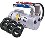 EasyPro PA75WLD 3/4 HP Rotary Vane Aeration System Aerates up to 18 feet deep