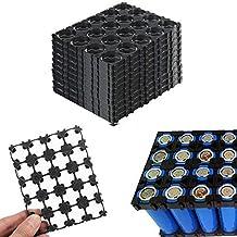 10PC 18650 Battery 4x5 Cell Spacer Radiating Shell Plastic Holder Bracket 18.4mm