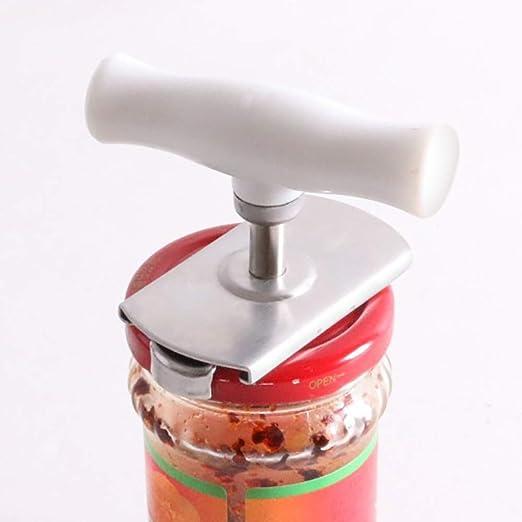 Kitchen Adjustable Jar Lid Opener Gripper Manual Can Seal Lid Remover Tool HO3