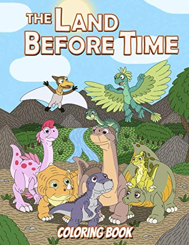 The Land Before Time Coloring Book: Coloring Book for Boys and Girls