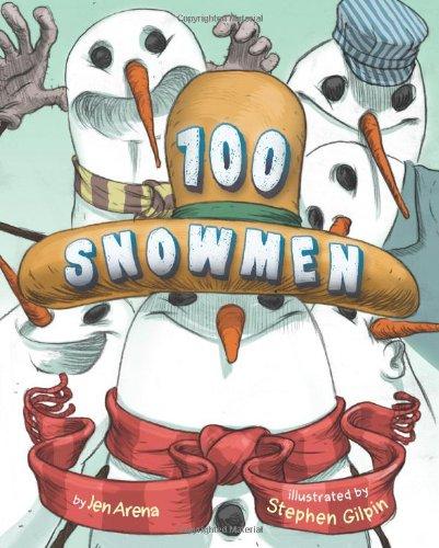 100 Snowmen -