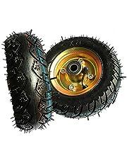 caster HXBH banden (2 stuks) Pneumatisch wiel 150mm stil rubber wiel Trolley wiel Zware Pneumatische band