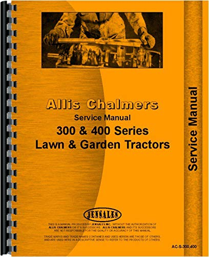 Allis Chalmers 314D Lawn and Garden Tractor Service Manual PDF