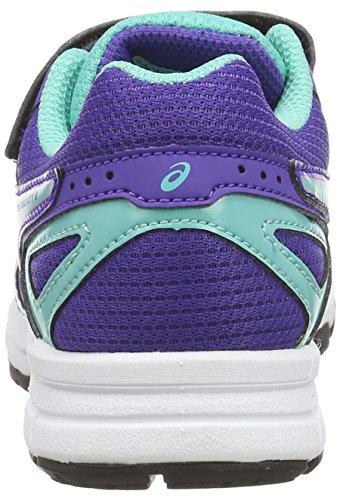 ASICS Pre Galaxy 8 PS - Zapatillas de deporte unisex para niños Azul (Blueberry/Blue Green/Silver 5283)