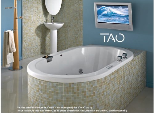 Neptune Tao 3260 Activ-Air/Mass-Air/Whirlpool Combo Tub-59-3/4