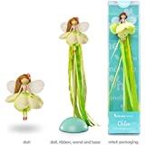 Mönelie Fairy Doll Set - Chloe (Includes a Doll, Ribbon Wand & Stand)