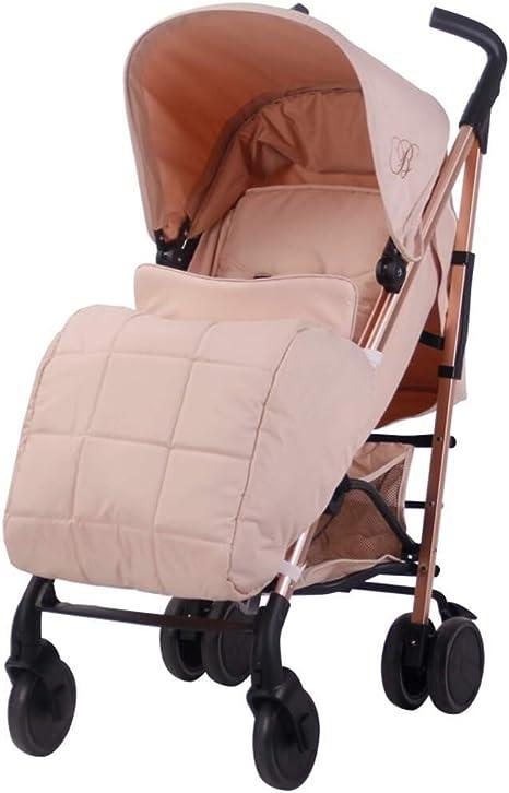 My Babiie Universal Pushchair//Stroller Blush Fur Hood Accessory