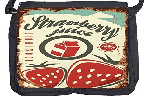 Borsa Tracolla Soda Soft Drink succo di fragola Stampato