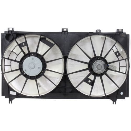 MAPM Premium IS250 06-13 RADIATOR FAN SHROUD Assembly, Dual Type, 2.5L Eng. by Make Auto Parts Manufacturing (Image #4)