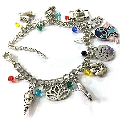 Lilo And Stitch Cosplay Costume Jewelry - Disney Charm Bracelet (Stitch Lilo Costume)