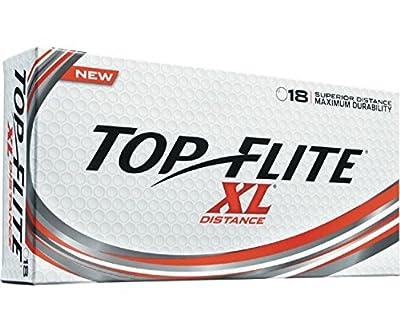 Top Flite Golf Balls XL Distance - Superior Distance - Durable Long Lasting - White