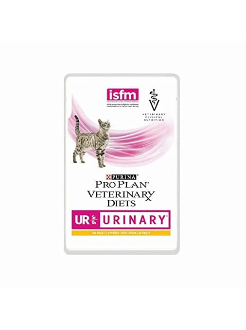Purina Veterinary Diet gato Ur Urinary al Salmón 5 bolsitas ...