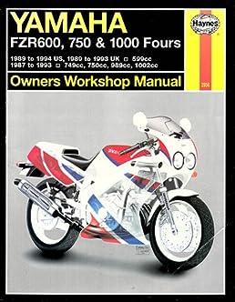yamaha fzr600 750 1000 owners workshop manual haynes repair rh amazon com yamaha fzr 600 genesis manual yamaha fzr 600 service manual download
