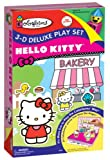 Colorforms 3D Deluxe Playset Hello Kitty Sticker Kit