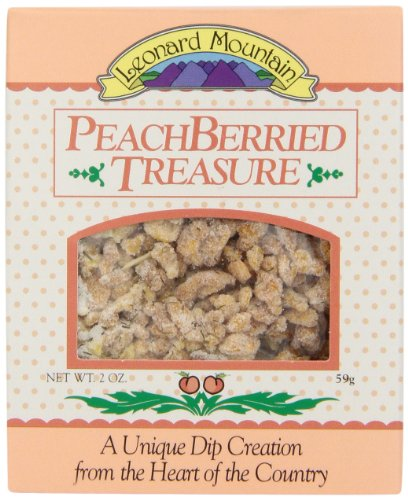 (Leonard Mountain Treasure Fruit Dip, Peachberried, 2 Ounce (Pack of 6))