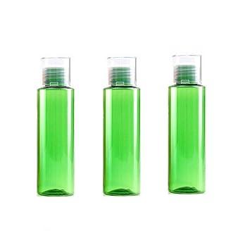 a5641905e704 Amazon.com: 3PCS 100ML 3.4OZ Green Empty Plastic Bottle with Double ...