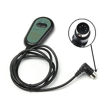 GOZAR 5/8 Pin 3/5 Cables 2 Botón De La Silla Reclinable Eléctrico Interruptor De Mano Control Remoto-2: Amazon.es: Hogar