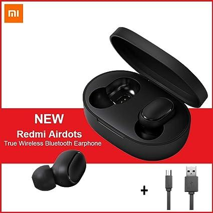 Per Xiaomi Redmi AirDots, TWS Bluetooth 5.0 Cuffie Stereo Bass Cuffie Senza Fili 300mAh Scatola di Ricarica True Stereo Sound Mini auricolari