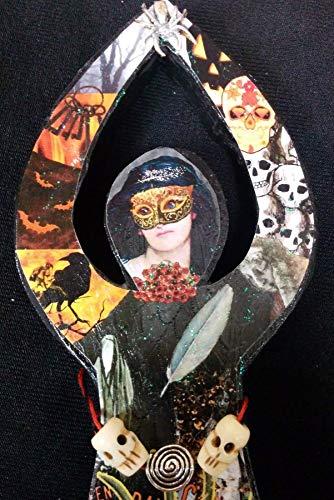 Samhain Goddess, Day of the Dead, Halloween, October 31-November 01 Statue -