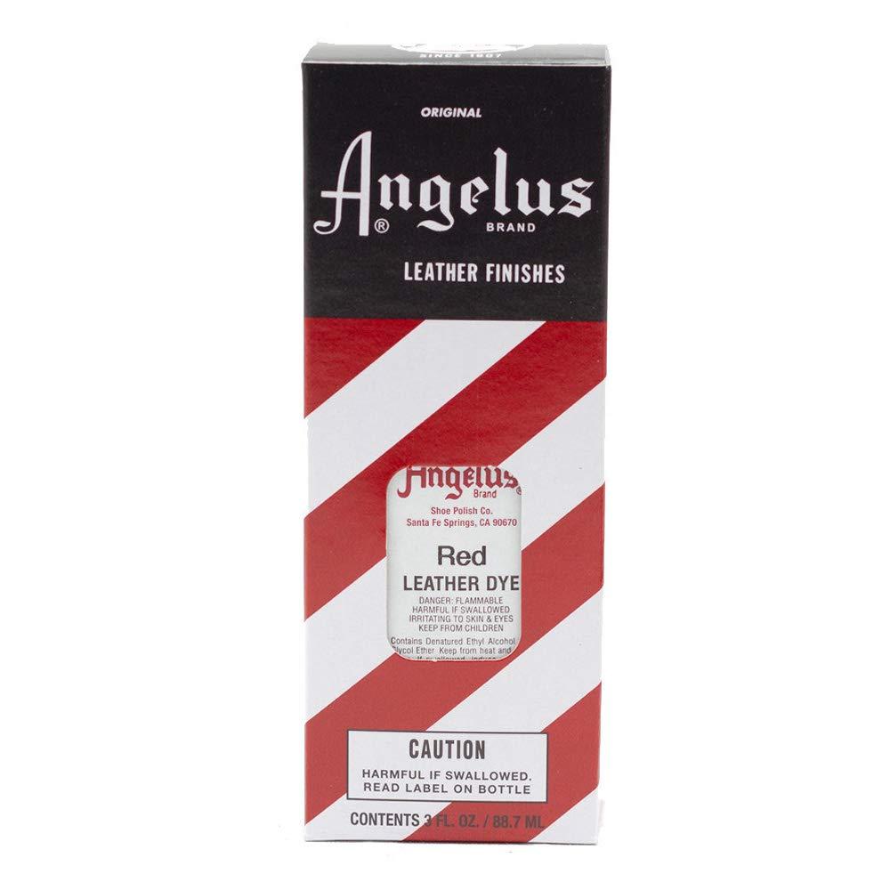 Angelus Leather Dye Red MACPHERSON