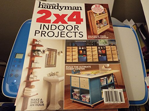 The Family Handyman magazine 2x4 indoor projects August 2017