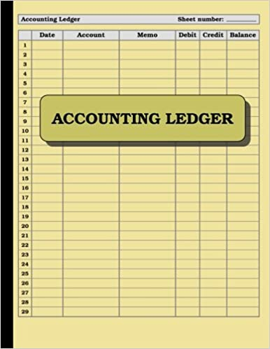 accounting ledger 120 pages size 85 x 11 inches double sided perfect binding non perforated