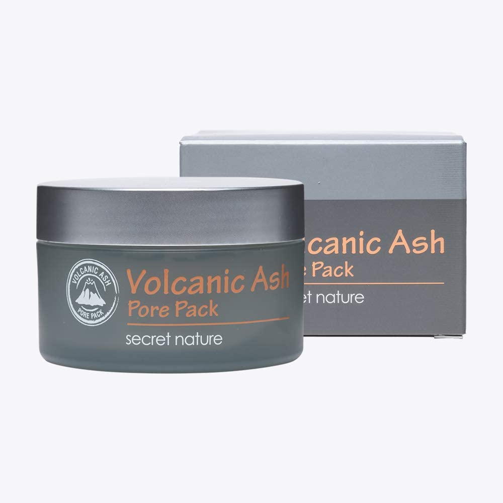 Secret Nature Volcanic Ash Pore Pack, Mascarilla Facial 1 Unidad ...