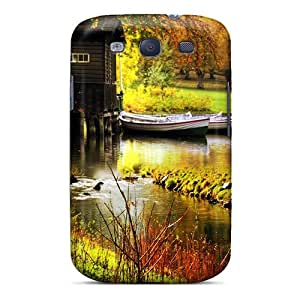 Hard Plastic Galaxy S3 Case Back Cover,hot House By The River Case At Perfect Diy