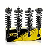OREDY Full Set of 4 Complete Struts Assembly Shock Struts Coil Spring Assembly Kit 11380 171369 15080 181370 Compatible with Ford Expedition Lincoln Navigator 2003 2004 2005 2006