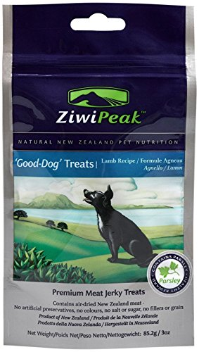 Ziwipeak Air (ZiwiPeak Good-Dog - Lamb Real Meat Jerky - 3 oz)