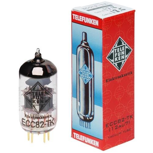 TELEFUNKEN Black Diamond ECC82-TK Vacuum Tube by TELEFUNKEN Elektroakustik