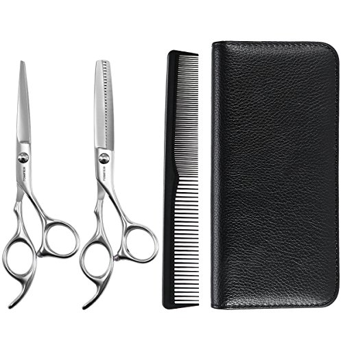 Hair Cutting Shears, ROSENICE Professional  Hairdressing Scissors Haircutting Scissors Barber Shears by ROSENICE