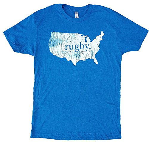 Usa Rugby Shirts - USA Vintage Rugby T-Shirt (XL)