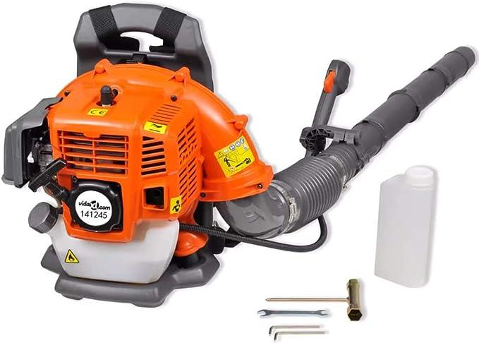 Soplador de hojas portátil con gasolina de 42,7 cc, 900 m³/h ...