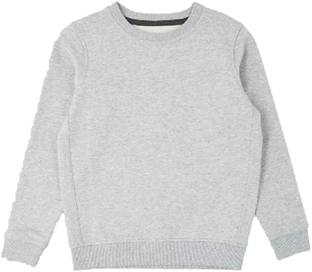 EX M/&S Boys Girls Unisex School Crew Neck Round Neck Sweatshirt Uniform Ages 3-13 Years
