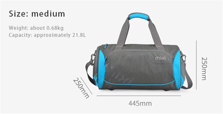 Amazon.com: HJAZ Tubular Gym Bag with Shoes Compartment ...