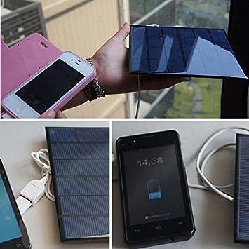 Cargador Solar, Cargador Solar del teléfono de 6V 3.5W, Panel ...