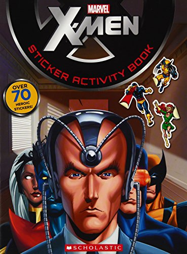 X-MEN STICKER ACTIVITY BOOK for sale  Delivered anywhere in USA