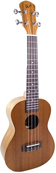 Ukulele Winner Concert 23 Sapele Natural