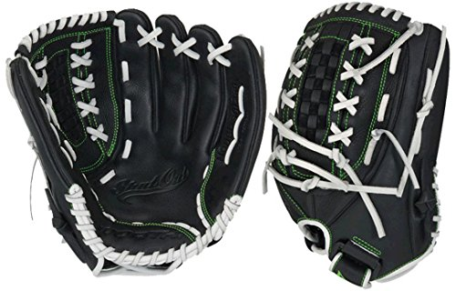 Worth SO1250 Shut Out 12 1/2 inch Keilani Signature Series Infielder/Outfielder Fastpitch Softball Glove Right Hand Thrower by Worth